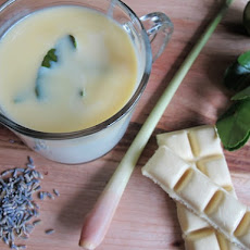 Lemongrass-Lavender White Hot Chocolate