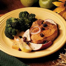 Apple-Topped Chops Recipe