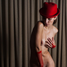 Demure Rouge  by Satin Dolls Photography - Nudes & Boudoir Boudoir