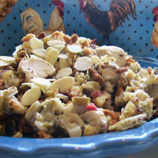 Chicken and Wild Rice Casserole Supreme