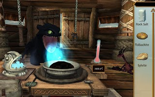 Screenshot of School of Dragons