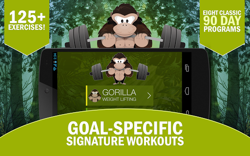 Gorilla Weight Lifting: Strong - screenshot