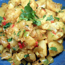 My Aloo Gobi - Curried Cauliflower and Potatoes