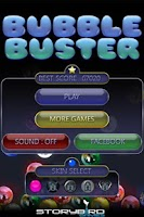 Screenshot of Bubble Buster