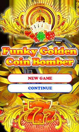 コイン落としFunky Golden Coin Bomber
