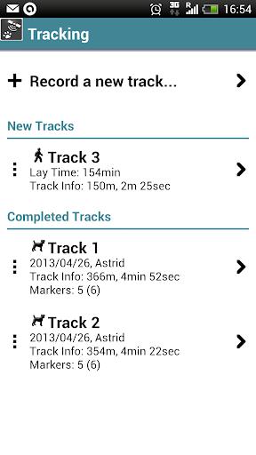 Dog Tracks - screenshot