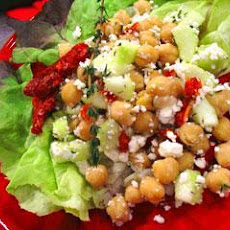 Wisconsin Garbanzo Beans & Feta Cheese