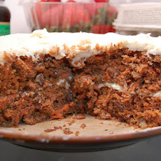 Super-Moist Diabetic Spiced Carrot Cake