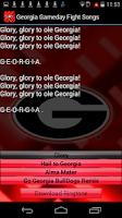 Screenshot of Georgia Bulldogs Ringtones