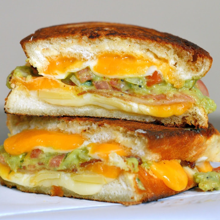 grilled cheese plus 10 grilled cheese guacamole bacon grilled cheese ...