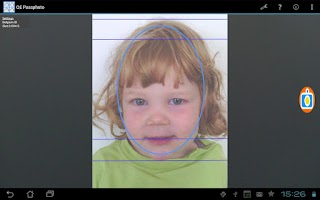 Screenshot of Quick&Easy Passport Photo ID