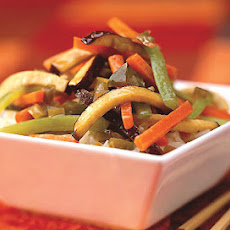 Five-Spice Tofu Stir-Fry with Carrots and Celery