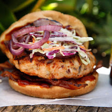 Chipotle-Bacon Turkey Burger