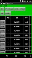 Screenshot of BaseBall Score Book