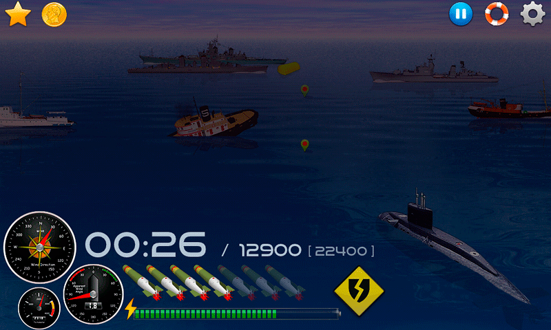 Silent Submarine Career Screenshot 13