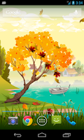 Screenshot of Seasons Autumn Live Wallpaper