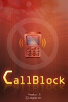 Screenshot of CallBlock