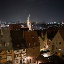 Nürnberg by Madeline Joanne - City,  Street & Park  Skylines