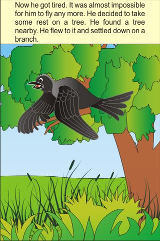 thirsty-crow-kids-story for android screenshot