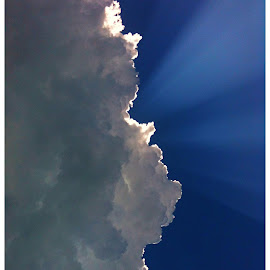 Up Above by Paul Csogi - Landscapes Cloud Formations ( heaven, cloud, flare )