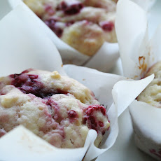 Raspberry-Lemon Muffins