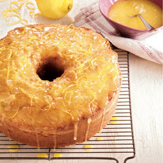 Lemon Curd Pound Cake