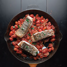Quick Fish Filets in Tomato Sauce