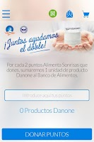 Screenshot of Danone