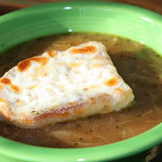 Three Onion Soup Gratinee