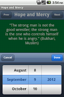 Screenshot of 365 Sayings : Prophet Muhammad