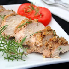 Walnut Rosemary Crusted Chicken