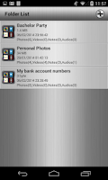 Screenshot of File Vault+Private Photos