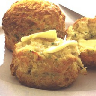 Buttermilk Scones with Cheshire Cheese and Chives