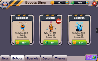 Screenshot of The Bobots - Robot Game