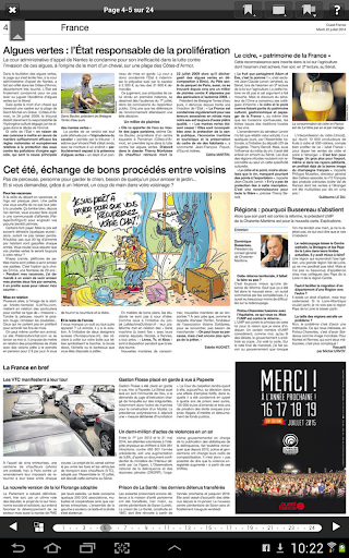Ouest-France - Le journal - screenshot