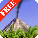 Smoking Volcano Free icon