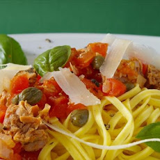 Spaghetti, Tuna and Capers