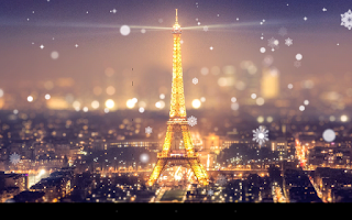 Screenshot of Paris Night Light LWP