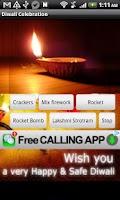 Screenshot of Diwali Virtual Crackers