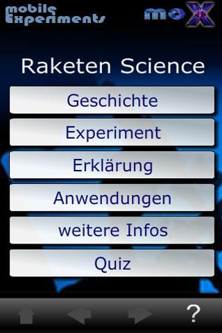 moX Raketen Science