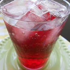Cranberry Raspberry Mocktail