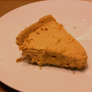 Healthy No Bake Pumpkin Pie