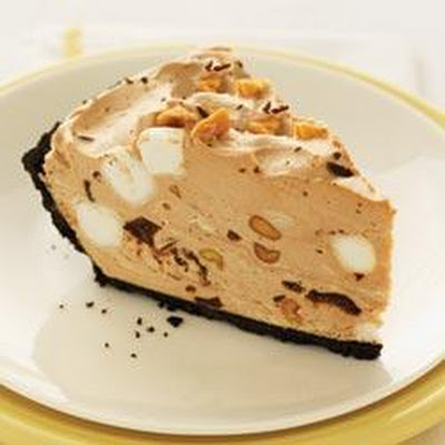 Rocky Road No-Bake Cheesecake