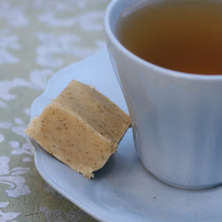 White Chocolate And Green Tea Fudge
