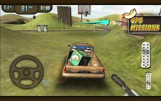 Screenshot of Pickup Truck Simulator 3D 2014