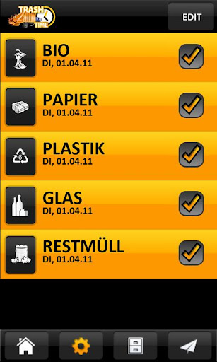 【免費生產應用App】TrashTime - Garbage Reminder-APP點子