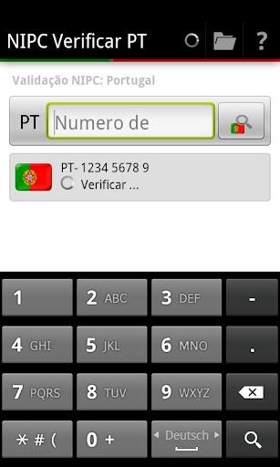 NIPC Verificar PT