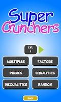 Screenshot of Super Crunchers Free