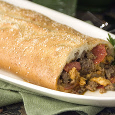 Hearty Sausage Stromboli