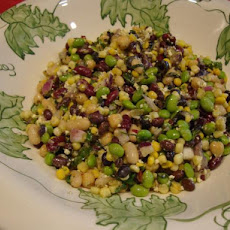 Southwest Four Bean Salad Supreme